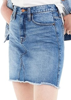 J.Crew Denim Skirt (Birch) (Regular & Petite)