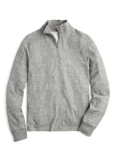 J.Crew Double Knit Half Zip Pullover