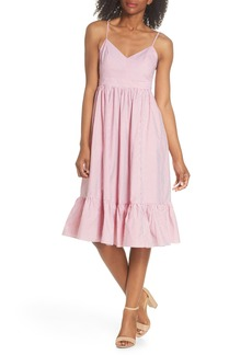 J.Crew Drapey Spaghetti Strap Dress (Nordstrom Exclusive)
