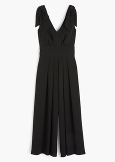 J.Crew Drapey Tie-Shoulder Jumpsuit