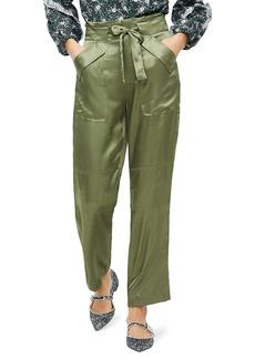 J.Crew Drapey Tie-Waist Cargo Pants