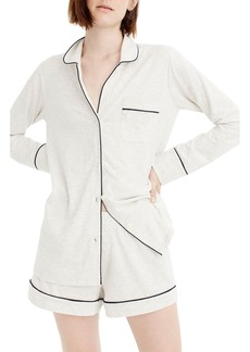 J.Crew Dreamy Short Cotton Pajamas