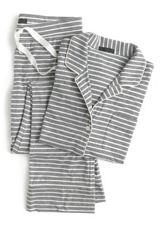 J.Crew Dreamy Stripe Cotton Pajamas