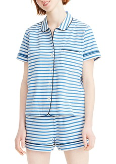 J.Crew Dreamy Striped Short Pajamas