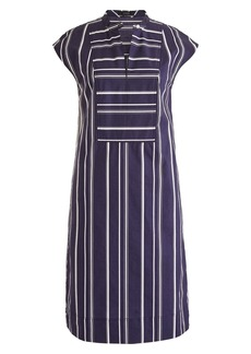 J.Crew Easy Stripe Poplin Tunic Dress