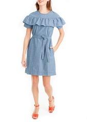 J.Crew Edie Chambray Dress (Regular & Petite)