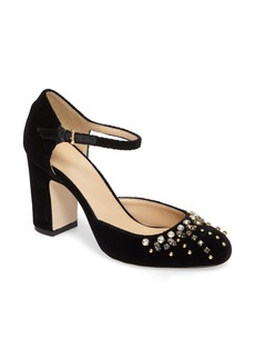 J.Crew Embellished Mary Jane Pump (Women)