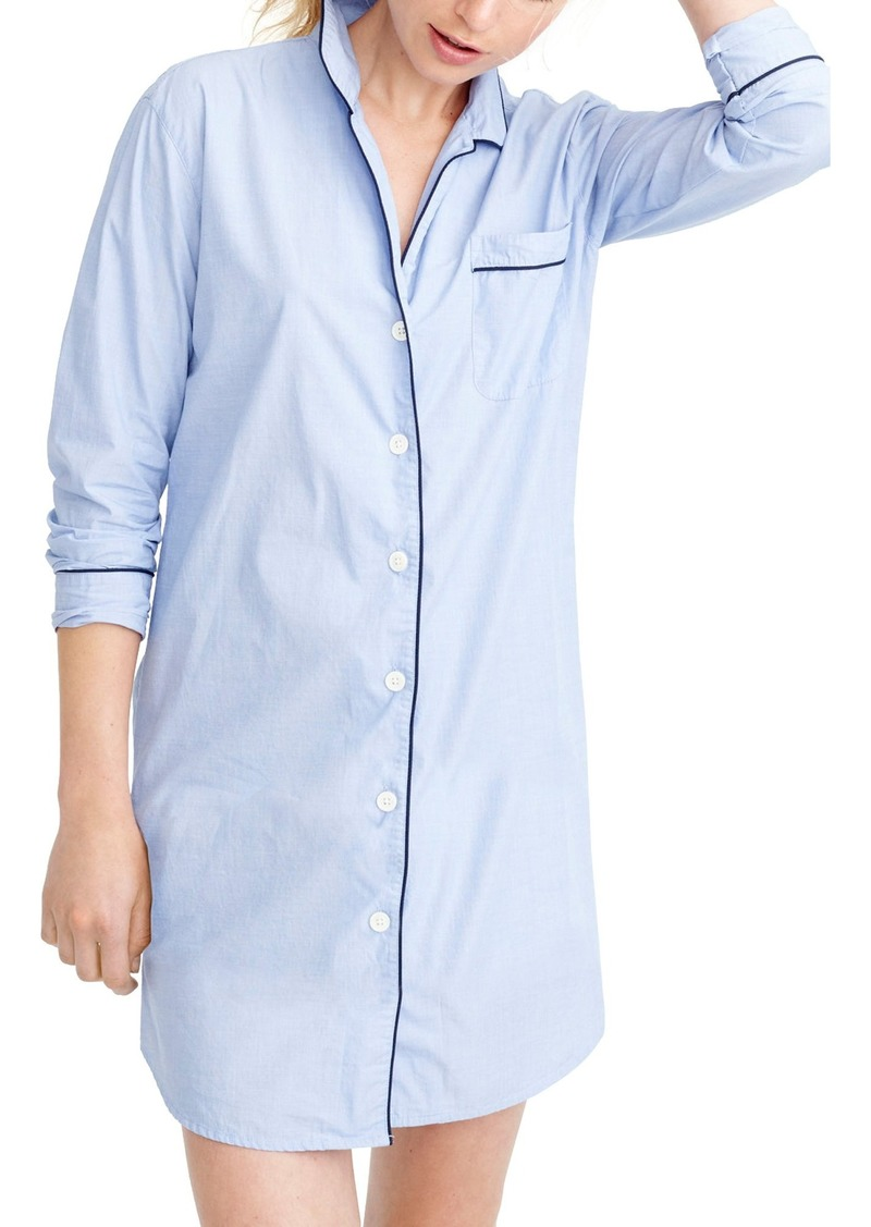 J.Crew End on End Sleep Shirt