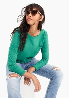 J.Crew Essential long-sleeve pocket T-shirt