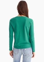 J.Crew Essential long-sleeve pocket T-shirt