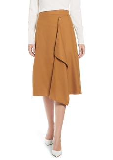 J.Crew Faux Wrap A-Line Skirt
