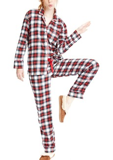 J.Crew Flannel Pajama Set