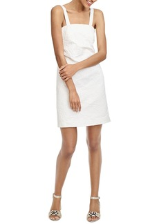 J.Crew Floral Embossed Convertible Strap Dress (Regular & Petite)
