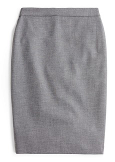 J.Crew Four Season Stretch No. 2 Pencil Skirt