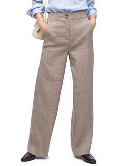 J.Crew Frankie Rose Plaid Pants