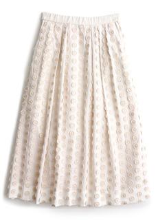 J.Crew Fringe Dot Midi Skirt (Regular & Petite)