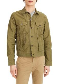 J.Crew Garment Dyed Bedford Cord Trucker Jacket