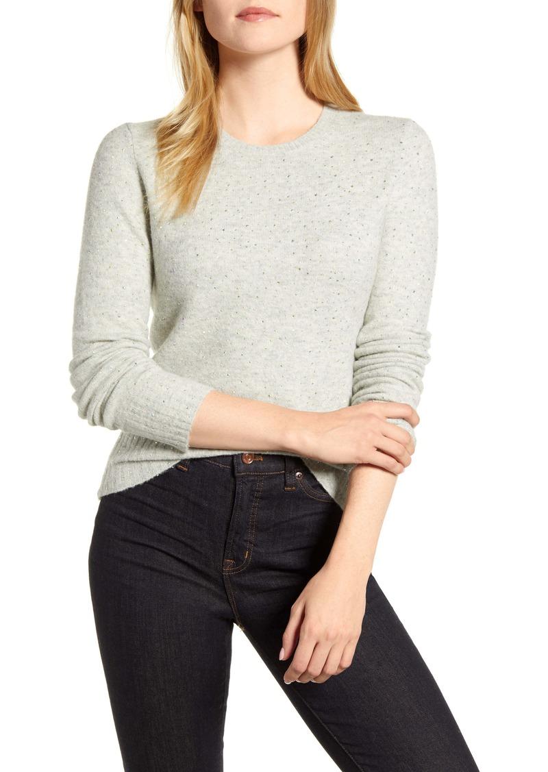 J.Crew Gemstone Supersoft Yarn Sweater
