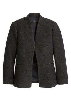 J.Crew Going Out Tinsel Tweed Blazer