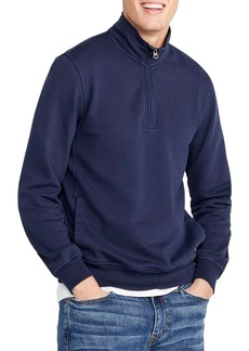 J.Crew Half Zip French Terry Sweatshirt