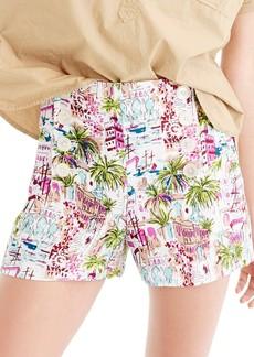 J.Crew Harbor Print Sailor Shorts