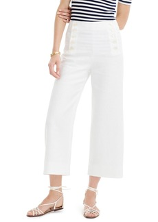 J.Crew Heavy Linen Sailor Pants (Regular & Petite)