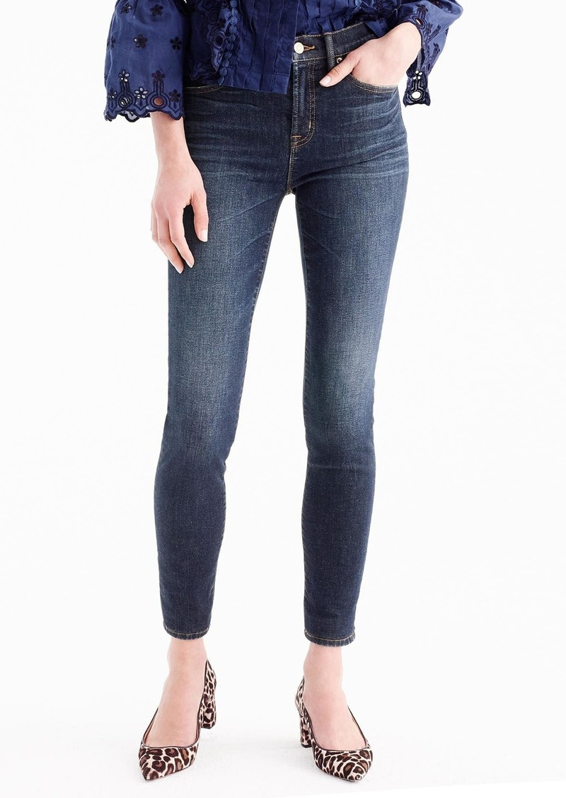 J.Crew High Rise Toothpick Jeans (Solano) (Regular & Petite)