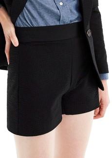 J.Crew High Waist Seersucker Shorts