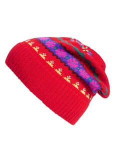 J.Crew Holly Fair Isle Wool Hat