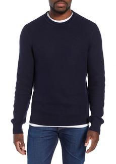 J.Crew Honeycomb Cotton Crewneck Sweater
