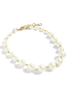 J.Crew Imitation Pearl Ball Necklace