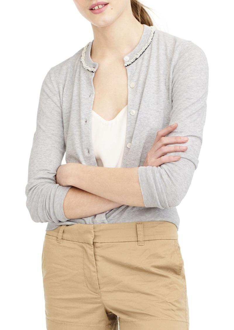 J.Crew J.Crew Jackie Beaded Cardigan | Sweaters - Shop It To Me