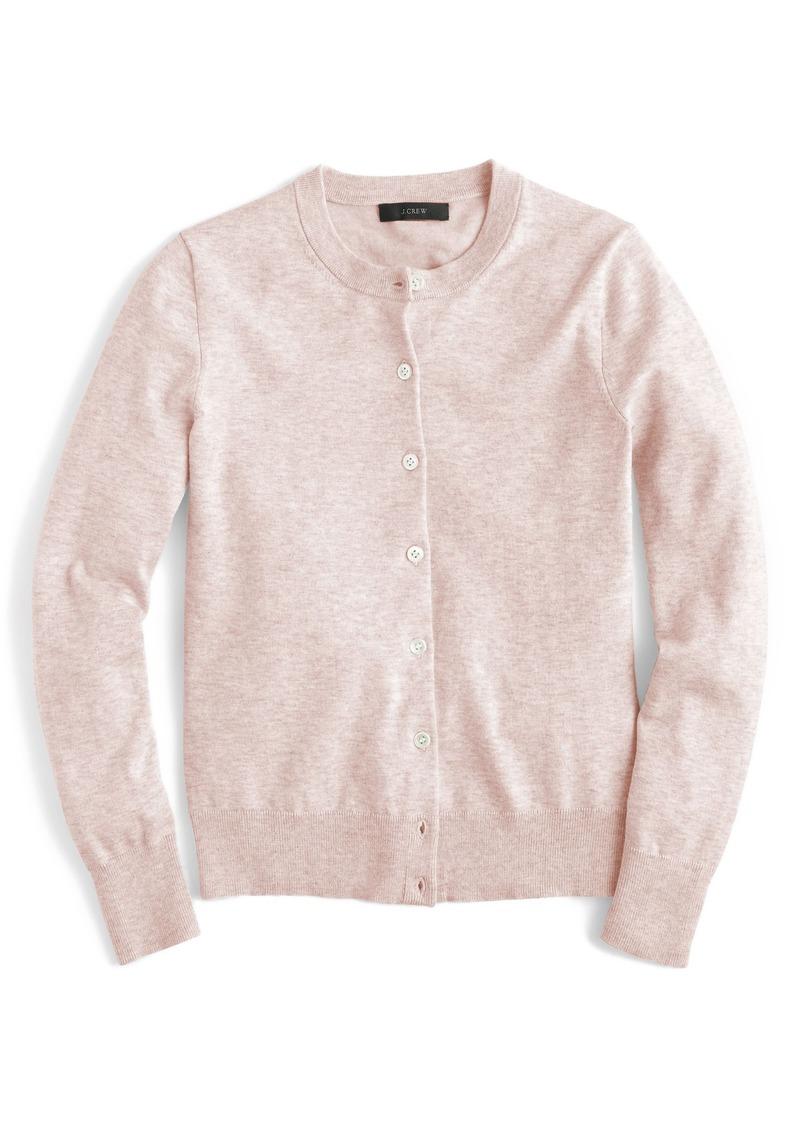 bb188dcd56db J.Crew J.Crew Jackie Cotton Blend Cardigan | Sweaters