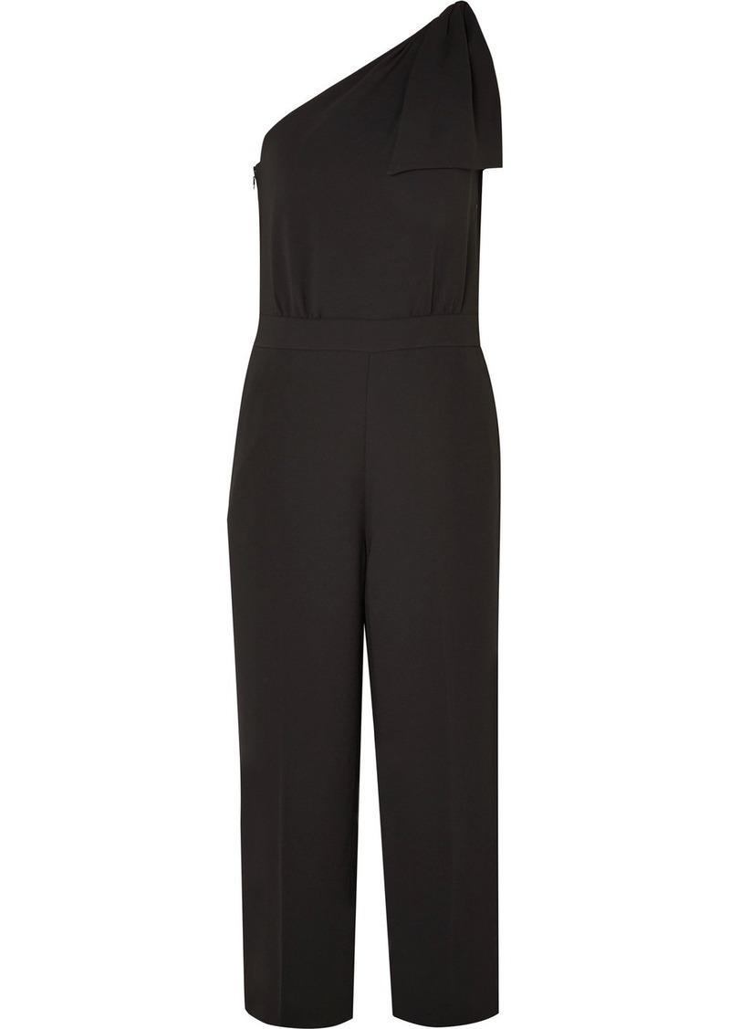 5ca89693061 J.Crew Jackpot one-shoulder crepe jumpsuit