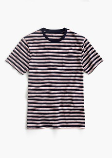 Tall J.Crew Jeans slub cotton T-shirt in navy stripe
