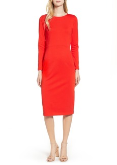 J.Crew Knit Sheath Dress (Regular & Petite)