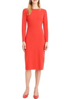 J.Crew Knit Sheath Dress (Regular & Petite)