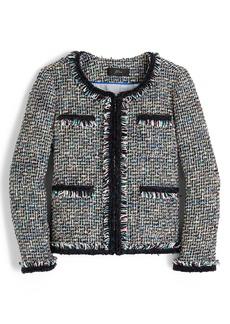 J.Crew Lady Metallic Tweed Jacket