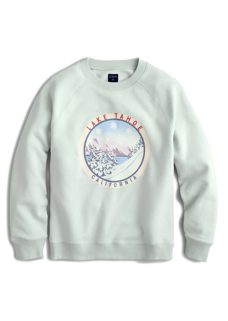 J.Crew Lake Tahoe Fleece Sweatshirt