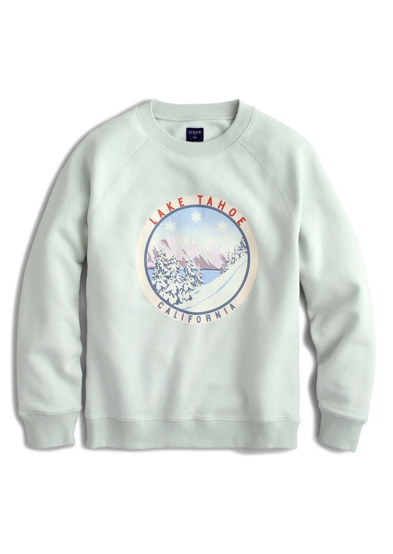 J.Crew Lake Tahoe Fleece Sweatshirt