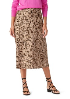 J.Crew Leopard Dot Pull-On Slip Skirt