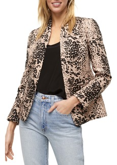 J.Crew Leopard Print Going-Out Blazer