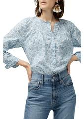 J.Crew Liberty Devonshire Floral Classic Popover Shirt