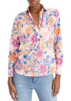 J.Crew Liberty® Floral Classic Popover Shirt