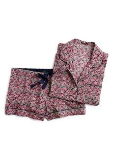 J.Crew Liberty Floral Short Pajamas