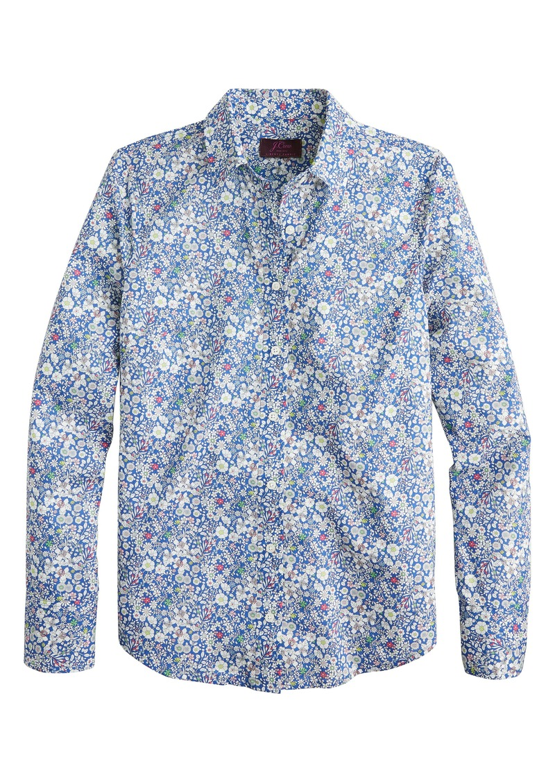 J.Crew Liberty® June's Meadow Perfect Shirt