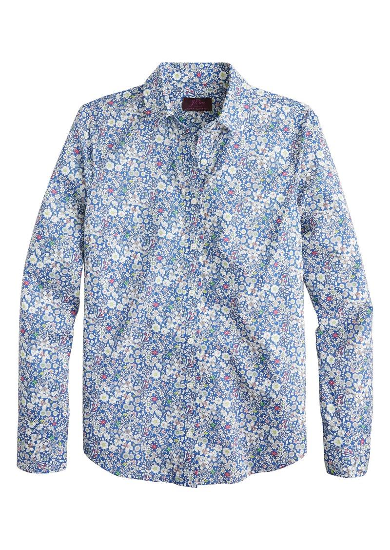 J.Crew Liberty® June's Meadow Perfect Shirt