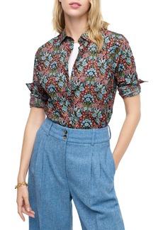 J.Crew Liberty® Primrose Floral Print Perfect Shirt