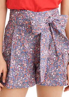 J.Crew Liberty® Tana Lawn Tie Waist Shorts