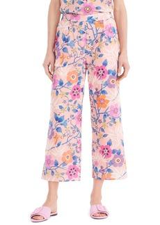 J.Crew Liberty® Tana Lawn Wide-Leg Crop Pants